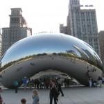 Chicago's Cloud Gate Sculpture