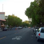 Downtown Davis (CA), a city downtown, serves the City of Davis and surrounding area and contains a mix of local financial, civic, cultural, retail, and residential uses