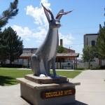 Jackalope Statue in Jackson, Wyoming