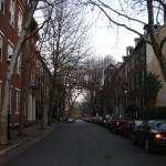 A Philadelphia residential street